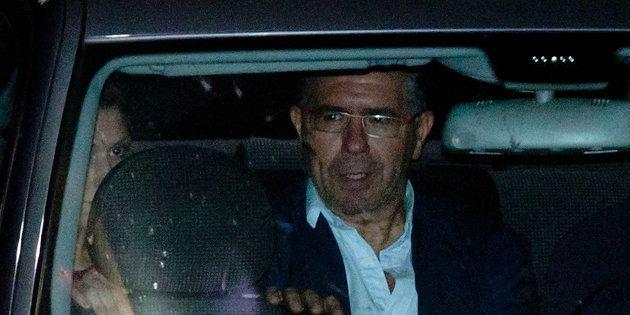 Francisco Granados, exsenador del PP, al salir de la comisaría de Majadahonda. Gonzalo Arroyo Moreno/Getty