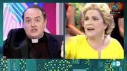 El duro enfrentamiento entre Pilar Rahola y el Padre Apeles a costa de