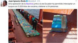 8.029 kilos de cocaína interceptados por la Policía