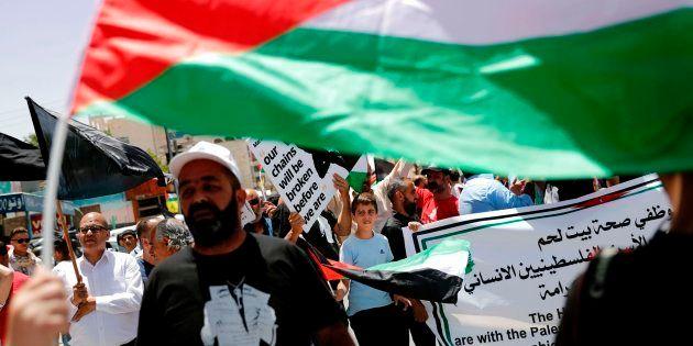 Los palestinos recuerdan con 69 segundos de silencio la desposesión y