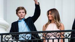 Melania y Barron Trump se mudan al fin a