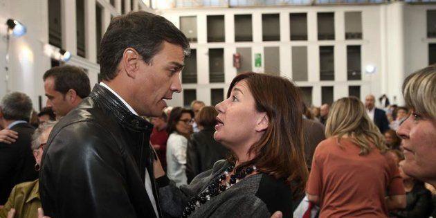 Pedro Sánchez y Francina
