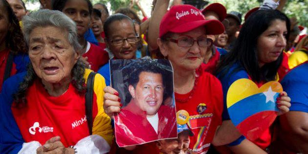 Cáncer de Hugo Chávez: Miles de chavistas se lanzan a las calles para apoyar al líder