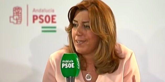 Polémica por un vídeo de Susana Díaz de enero sobre los