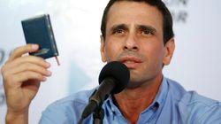 Capriles exige que se aclare si Chávez irá a la investidura (VÍDEO,