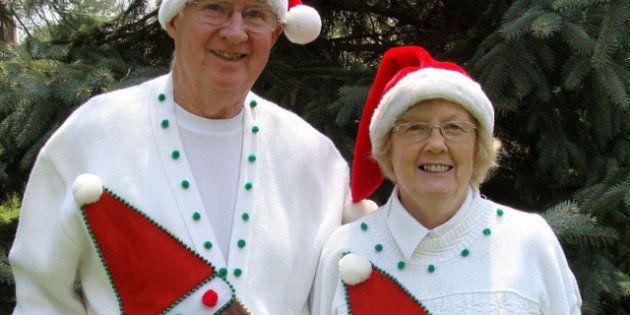 Los jerseys navideños más feos jamás vistos en 2012