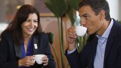 Anne Hidalgo, alcaldesa de París, intervendrá en el mitin de Pedro Sánchez el viernes en