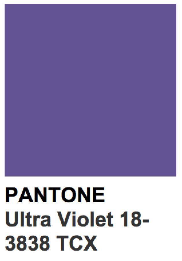 Pantone elige el Ultra Violet como el color de