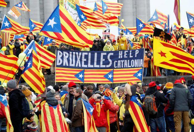 Bruselas, fría y amarilla, capital del