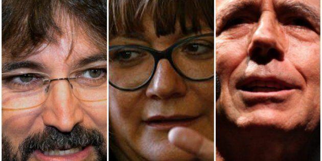 Jordi Évole, Isabel Coixet y Joan Manuel