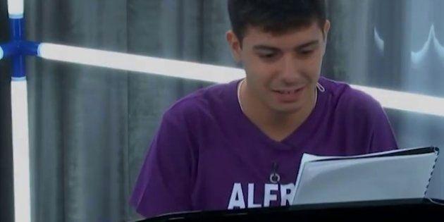 Alfred de 'Operación Triunfo', acusado de 'cuentitis' por sus