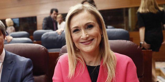 La presidenta de la Comunidad de Madrid, Cristina