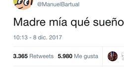 Alerta Twitter: Manuel Bartual comienza un nuevo hilo