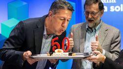 Rajoy defiende en Lleida que el voto