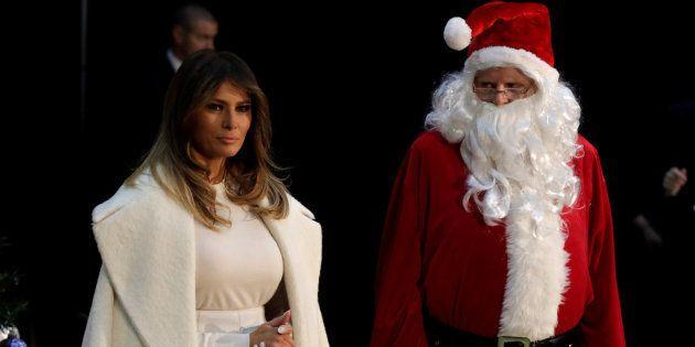 Melania Trump, troleada por su deseo de