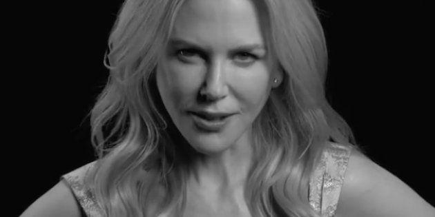 La actriz Nicole Kidman, en la campaña de la revista