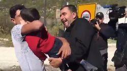El emotivo vídeo de un padre sirio reencontrándose con su hijo de 2 años tras un