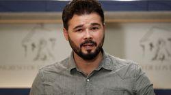 Gabriel Rufián se mofa de esta metedura de pata de Ciudadanos en