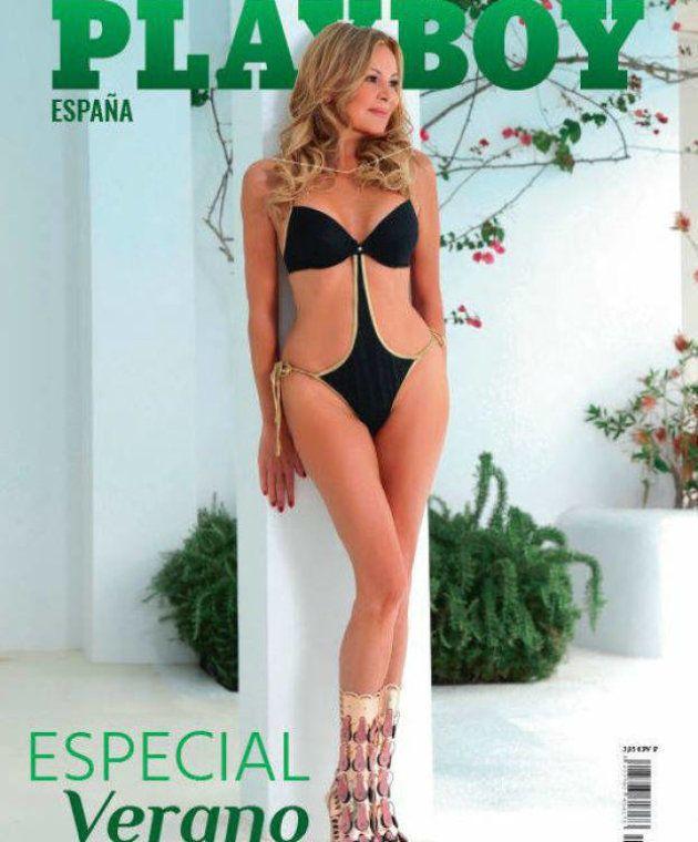 Ana Obregón posa en la portada de