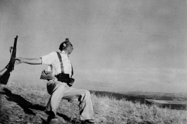 'Muerte de un miliciano', de Robert Capa