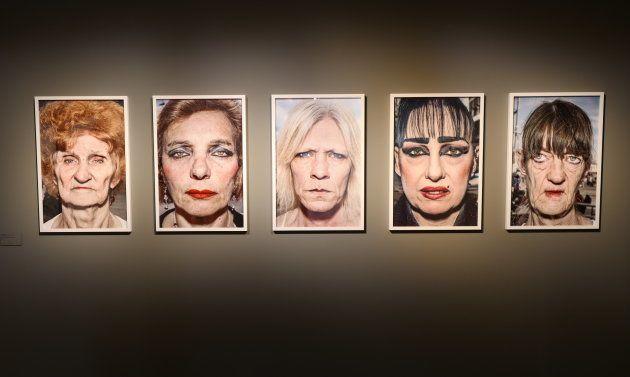 Retratos callejeros, de Bruce Gilden