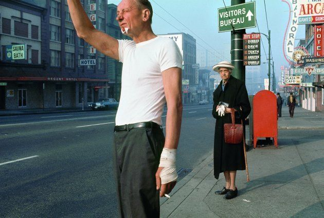 'Hombre con vendaje', de Fred Herzog