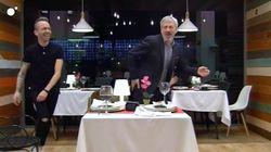 Un participante de 'First Dates' pone a todo el restaurante (Sobera incluido) a bailar
