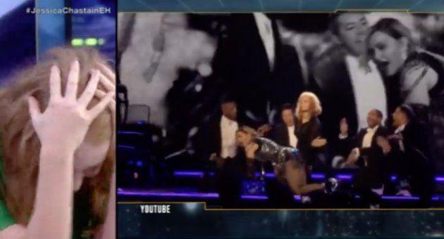 Jessica Chastain explica por qué azotó a Madonna en un