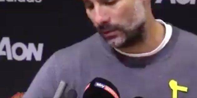 Guardiola responde a Mou tras cuestionar su lazo amarillo: