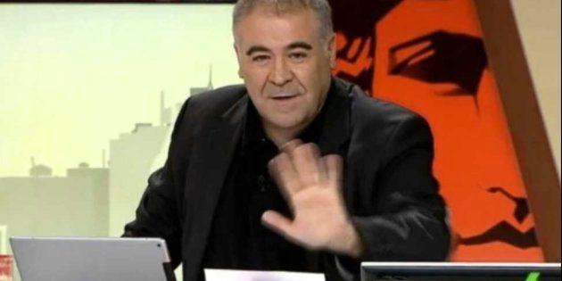 La impulsiva reacción de Antonio García Ferreras tras el Real