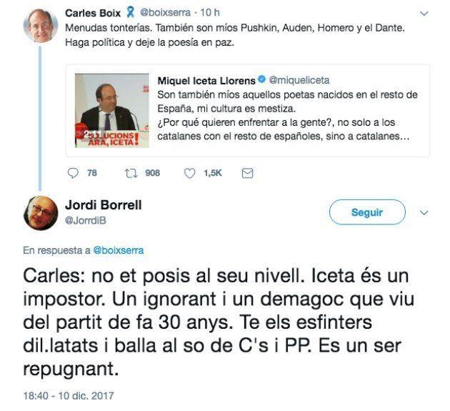 Dimite el profesor de la Universidad de Barcelona que insultó a