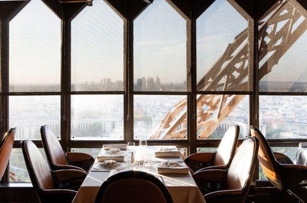 El restaurante Jules Verne, en plena Torre