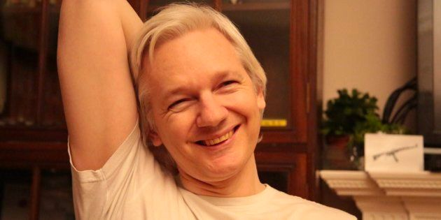 Julian Assange dice que