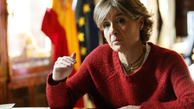 La ministra de Medio Ambiente, Isabel García