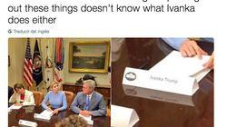 La foto que demuestra que ni en la Casa Blanca saben para qué está ahí Ivanka