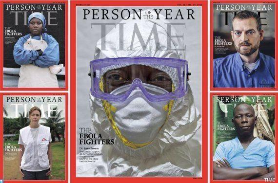 Los luchadores contra el ébola, personaje del año en