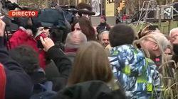 Una reportera de Aragón TV, hostigada en pleno directo desde