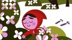 Homenaje a los Hermanos Grimm en Google: revisita el cuento de Caperucita