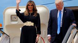 La imagen de Melania Trump en Arabia Saudí que prueba la incoherencia de su