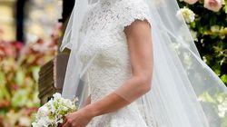 Así se hizo el vestido de novia de Pippa