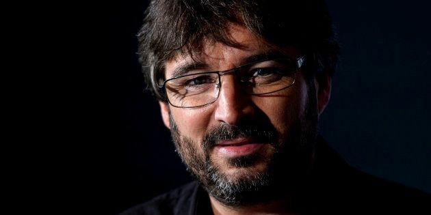 El presentador Jordi Évole durante la presentación del