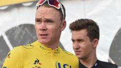 Chris Froome, positivo en un control de dopaje en la Vuelta a España