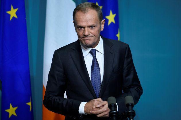 El presidente del Consejo europeo, Donald