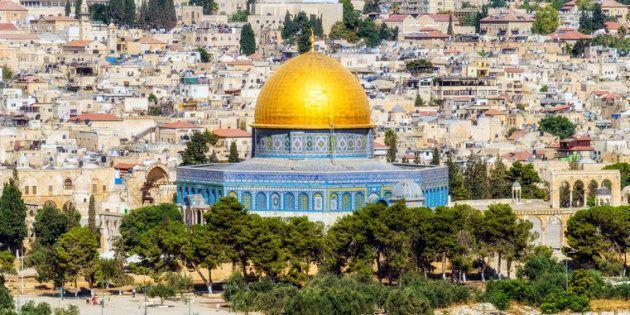Jerusalén desde el Monte de los