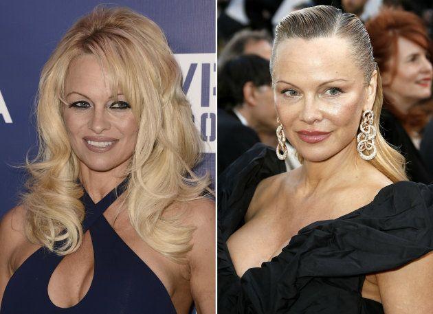 Pamela Anderson luce nuevo 'look' en el Festival de