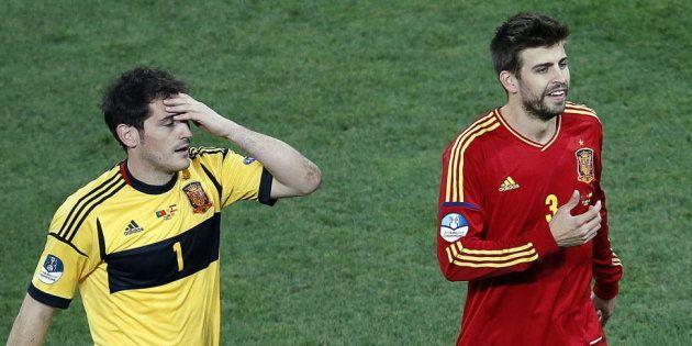 El 'recadito' de Casillas a Piqué tras la victoria liguera del Real