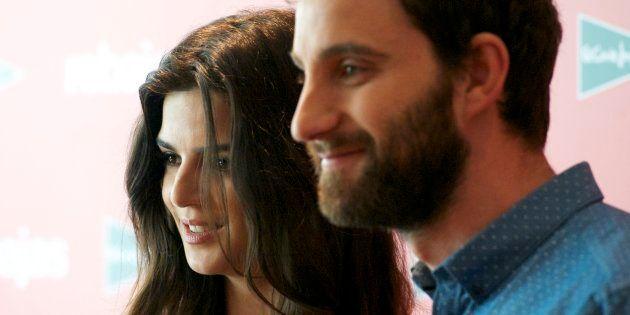 Clara Lago Y Dani Rovira, durante una presentación en junio de