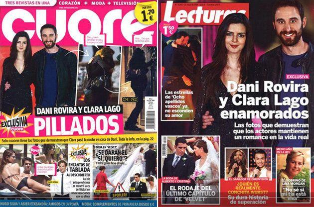 Clara Lago confiesa cuándo empezó su relación con Dani