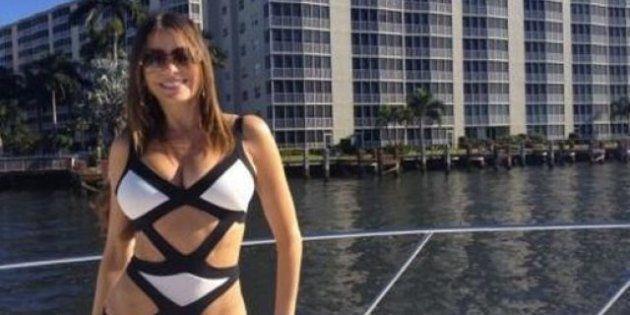 Navidades de las famosas: Jennifer Aniston, Sofía Vergara y otras envidiables vacaciones en bikini