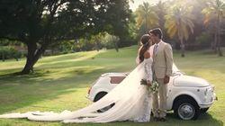 El vídeo de la boda de Ana Boyer muestra el vestido de Isabel Preysler y Tamara
